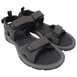 Khombu Men's Barracuda Sport Sandals brown A/K